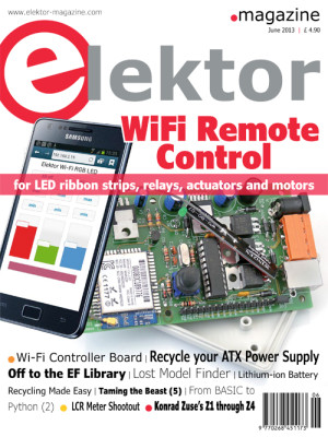 Elektor June 2013 Edition Published