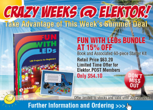 Summer Deal: Fun With LEDs Bundle @ 15% Off