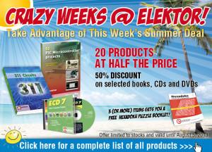 Summer Deal: 20 Elektor Bestsellers at Half the Price