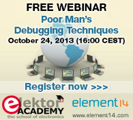 Elektor Webinar: Poor Man's Debugging Techniques
