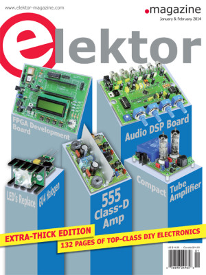Elektor January & February Double Issue Now On Sale