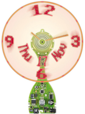 Wow! Discover Elektor's Ulti(mate) Prop(eller) Clock with POV Clock Face