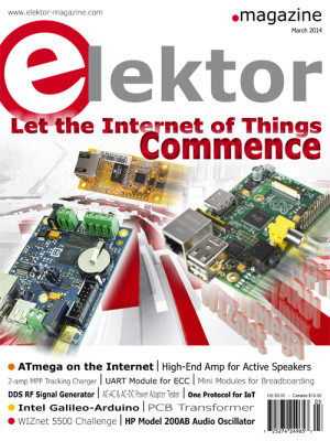Elektor Magazine March Edition Now on Sale