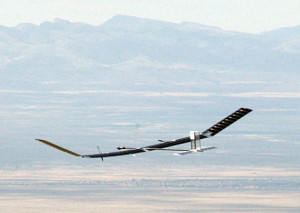 Zephyr Solar Aircraft Two Week Flight