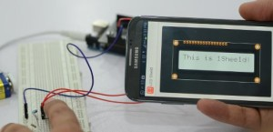 1Sheeld To Replace Them All:  Using Your Smartphone as Arduino Shields