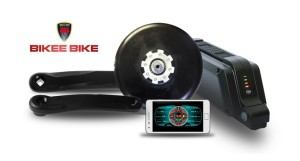 Bikee Bike – e-bike kit lets you cycle at 30 mph