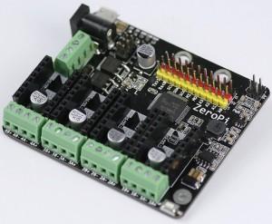 ZeroPi drives motors and servos