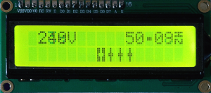 Build an AC powerline frequency meter