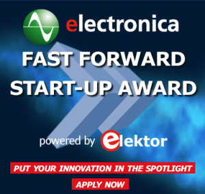 electronica Start-up Award powered by Elektor