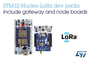 The LoRa development pack from STM. Image: STM