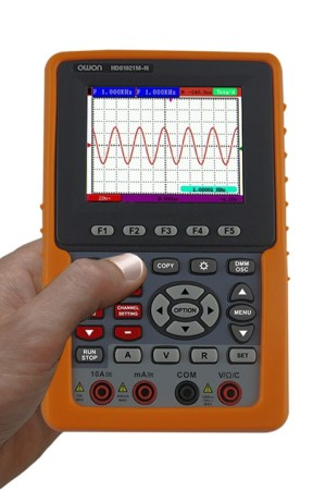 Review: Owon HDS1021M-N portable scope/multimeter
