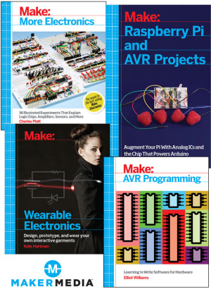 Maker Movement Books Arrive at Elektor Store