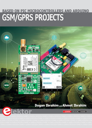 New GSM/GPRS Projects book covers PIC and Arduino
