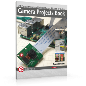 Review: Camera Projects Book — 39 Experiments with Raspberry Pi and