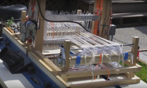 Fred Hoefler's Raspberry Pi controlled loom