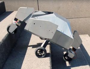Robot Armadillo goes anywhere (Switzerland)