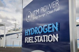 Hydrogen Fuel Station from ITM Power, the energy storage and clean fuel company that provided equipment for the hydrogen project at the Orkney Islands. Source: Bexim at Wikimedia, CC BY-SA 4.0 licence.