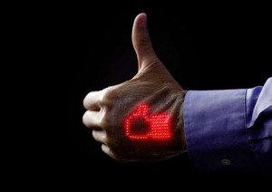 Thin, flexible and wearable display