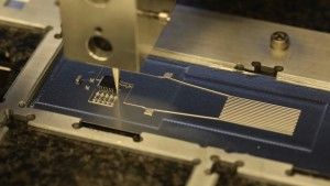 Hybrid 3D printer uses flexible conductive ink. (Photocourtesy of Harvard Wyss Institute)