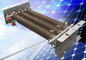 No kidding and no SMD: 8-kilowatt resistors