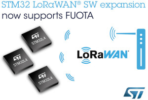 FUOTA for STM32. Image:STMicroelectronics.