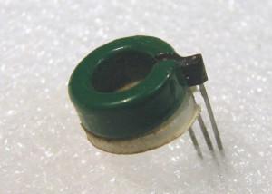 Current sensor uses the Hall effect. Image: Raztec