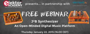 Join Elektor's Free J²B Synthesizer Webinar
