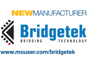 Mouser Signs Global Distribution Agreement with Bridgetek