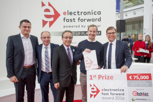 Enter electronica Fast Forward 2018, the startup platform powered by Elektor today!