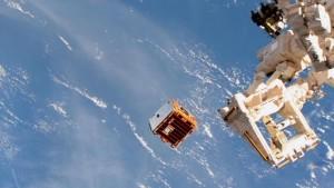 Vacuuming in space