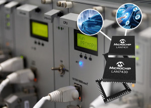 Microchip announces the LAN7430/1 Ethernet bridge