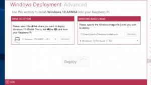 Windows 10 on the Raspberry Pi 3B+