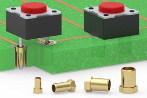 Zero Profile Receptacles Keep Components Flush