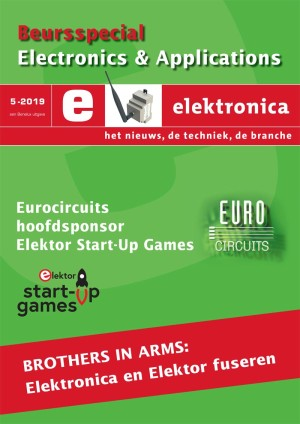 The first cover after the Elektor acquisition