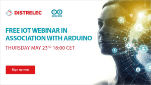 Distrelec Collaborates with Arduino for May instalment of 'The Distrelec Webinar Series'