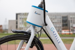 Smart Motor in Handlebars Prevents Bicycle Falls