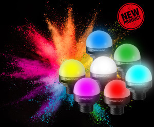 Distrelec adds Werma's new multicolour 240 series LED installation beacons to web shop