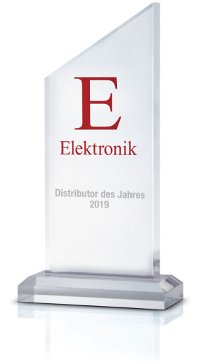 "Rutronik Once Again Cleans Up: 21 Spots on the Podium in the ""Distributor of the Year"" Awards"