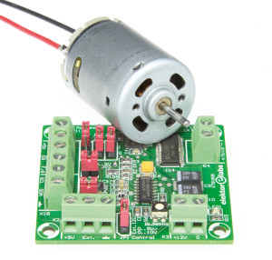 Free Back Article: Precision Control for DC Motors