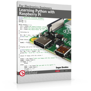 Book review: Learning Python with Raspberry Pi