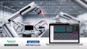 Apacer announces new cooperation with Advantech