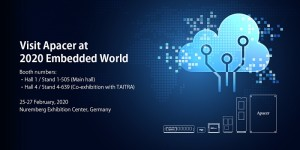 Apacer Announces New Partnerships to Create Industrial Cloud Services At Embedded World 2020