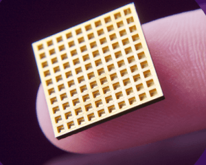 The implant can store hundreds of doses