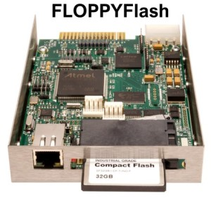 Floppy drive emulator updates legacy computers