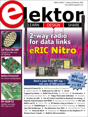 Elektor Magazine Edition 1/2016