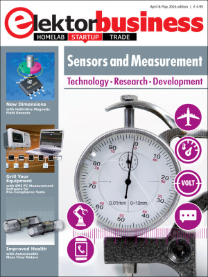On Publication: Elektor Business Magazine, Edition Sensors and Measurement