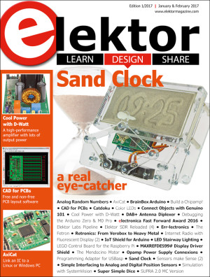 Elektor Magazine edition 1/2017 now available