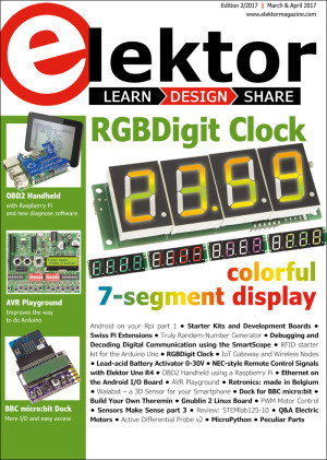 Elektor Magazine March & April 2017 Edition