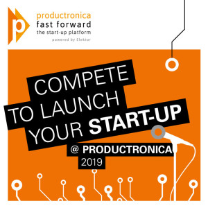 Start-ups in electronics: come shine @ productronica Fast Forward 2019