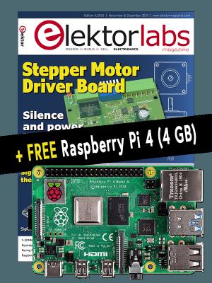 Cyber Week 2019: Elektor GOLD Discount + FREE Raspberry Pi 4 (4 GB)